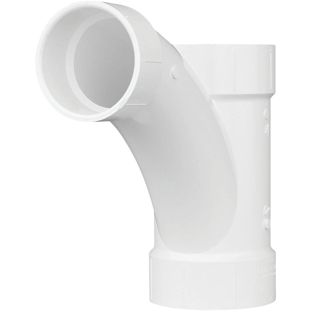4X4X3 COMBO PVC TEE-WYE