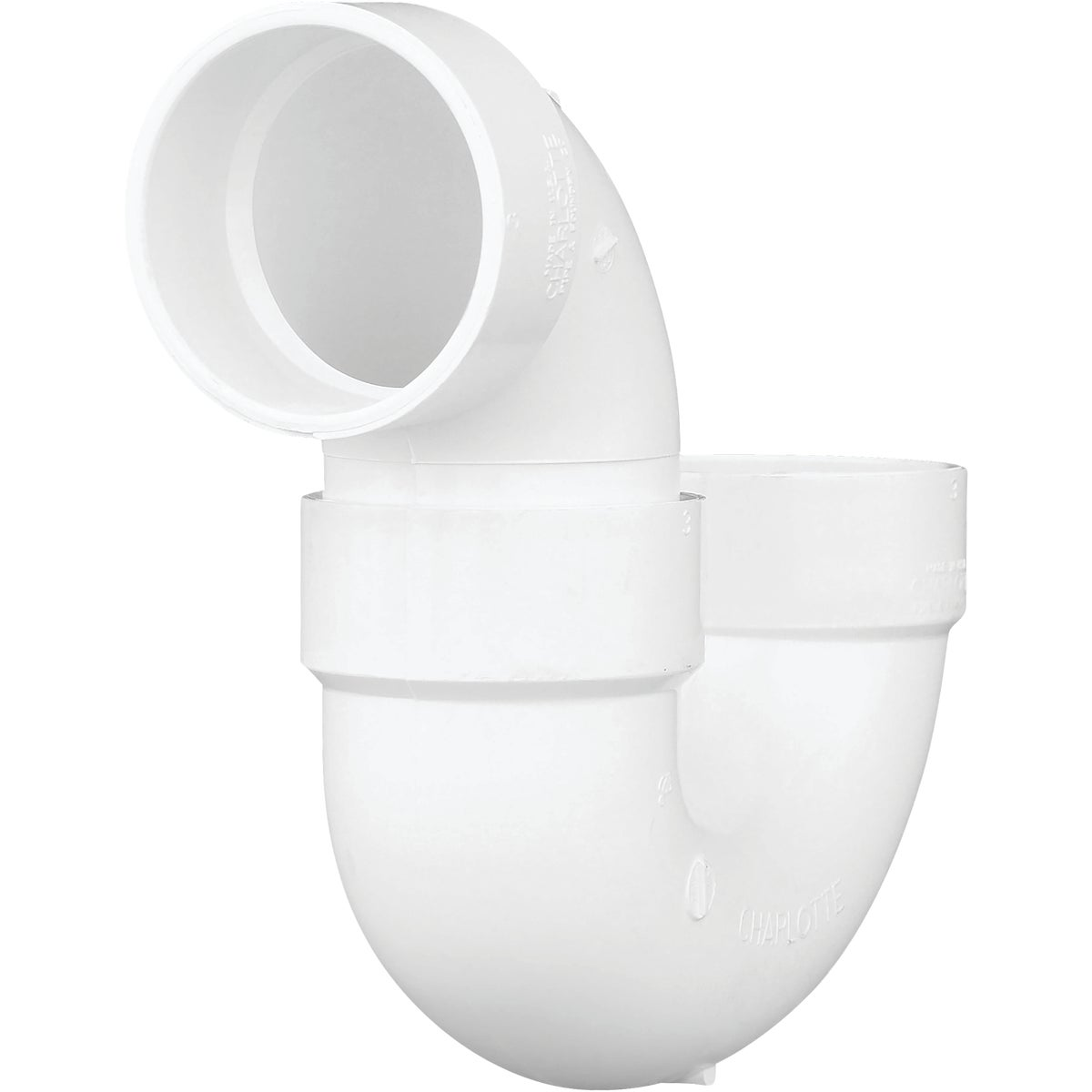 "3"" PVC P-TRAP - 78530 by Genova Inc  Pvc Dwv"