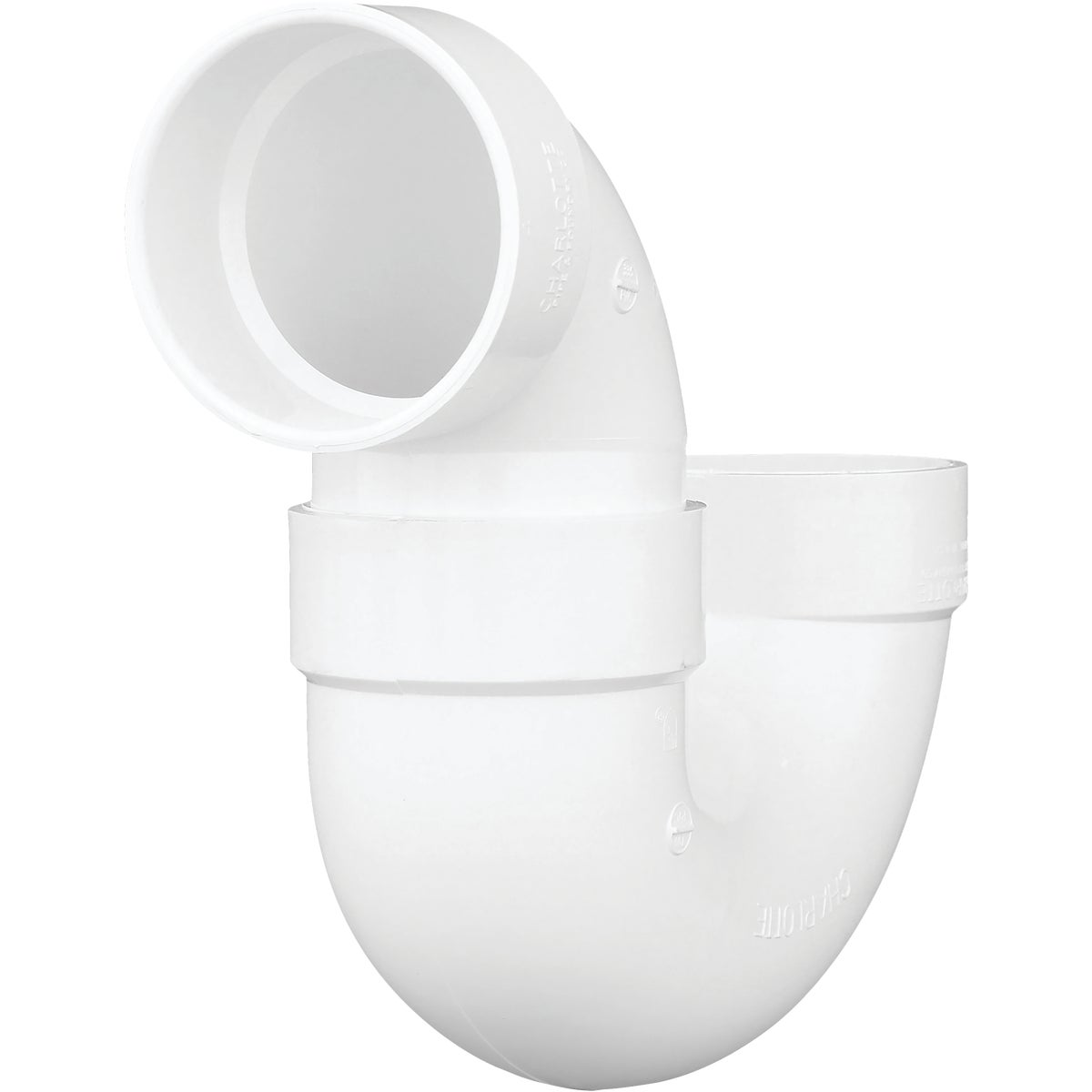 "4"" PVC P-TRAP - 78540 by Genova Inc  Pvc Dwv"