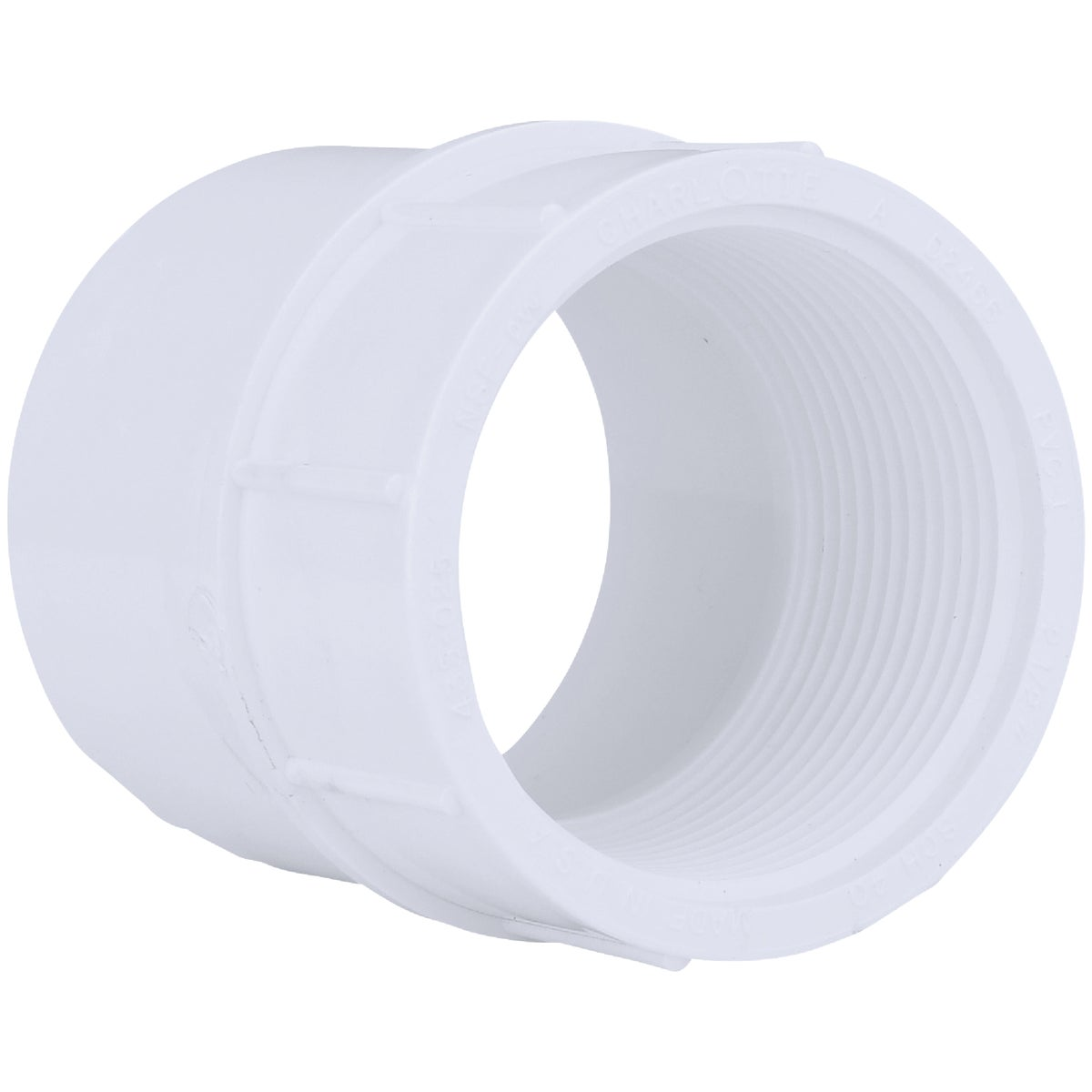 "2-1/2"" PVC SXFIP ADAPTER - 30390 by Genova Inc"