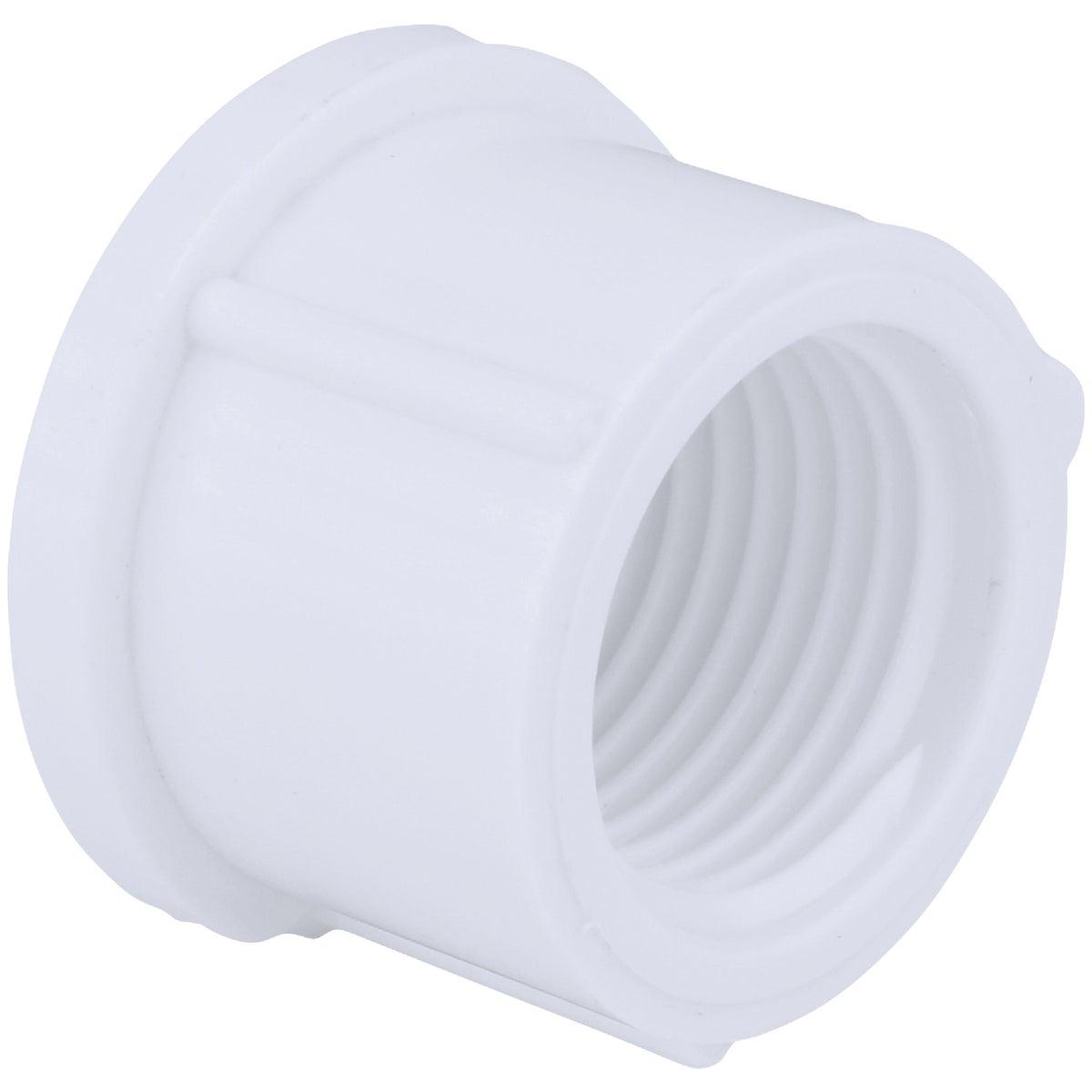 """4"""" PVC SCH40 FIP CAP"""