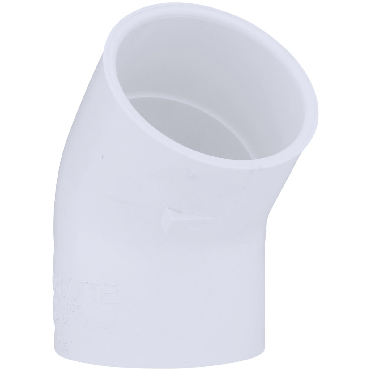 "2-1/2"" PVC SXS 45D ELBOW - 30690 by Genova Inc"