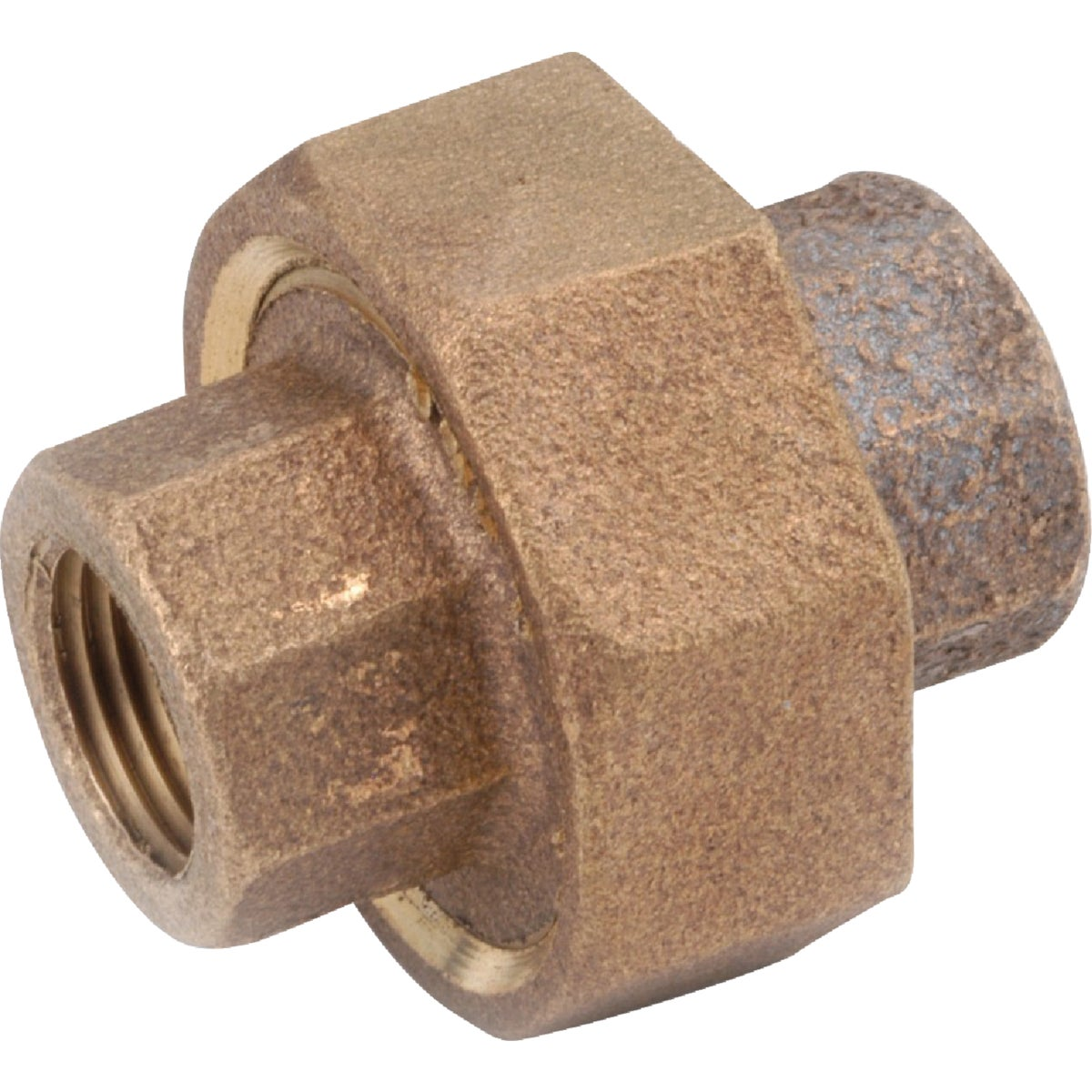 "1/4"" BRASS UNION - 738104-04 by Anderson Metals Corp"