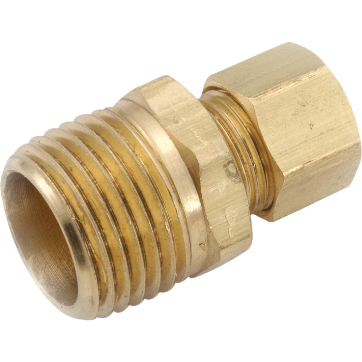 1/4X3/8 MALE CONNECTOR - 750068-0406 by Anderson Metals Corp