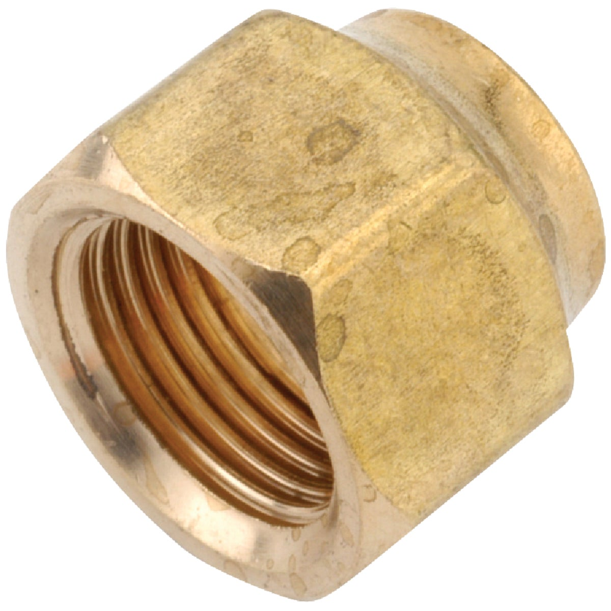 1/2X3/8 REDUCING NUT - 754020-0806 by Anderson Metals Corp