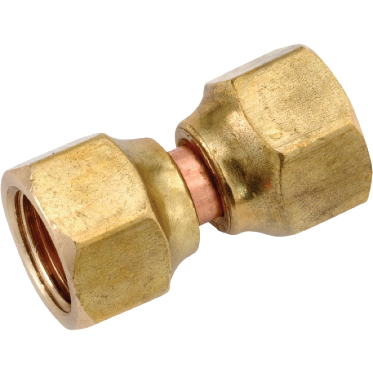 1/2X3/8 SWIVEL CONNECTOR - 754075-0806 by Anderson Metals Corp