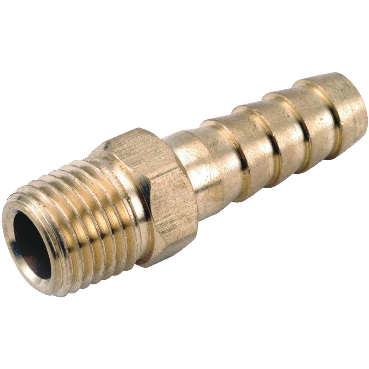1/4IDX1/2MPT HOSE BARB - 757001-0408 by Anderson Metals Corp