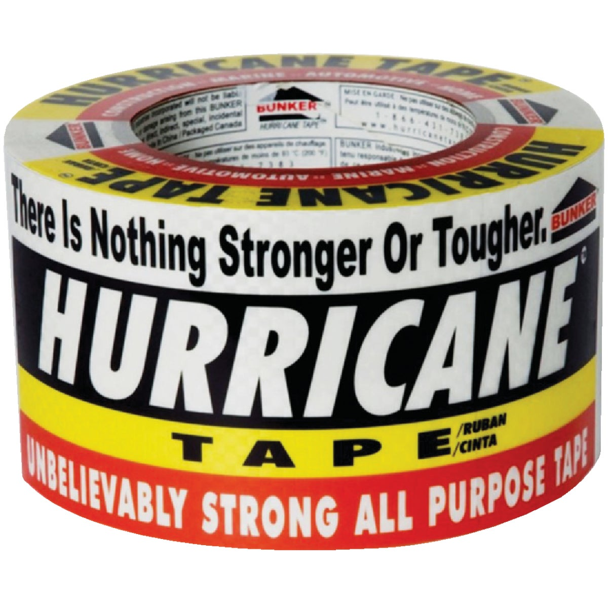 "3""X60YD HURRICANE TAPE - 00101 by Bunker Industries"
