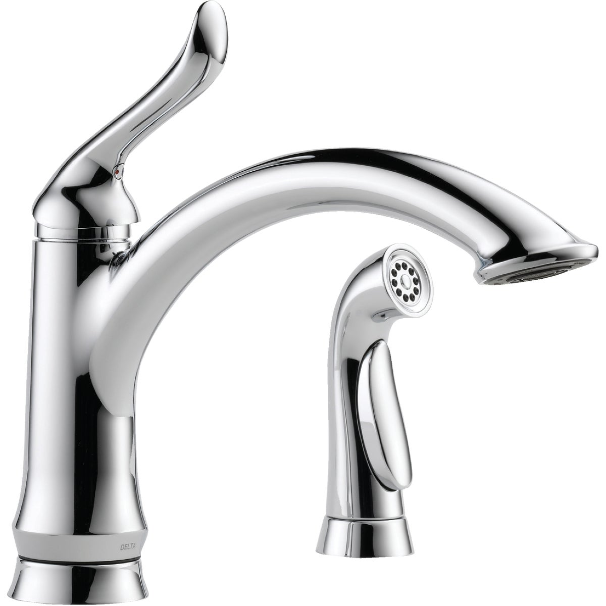 1H CHR KIT FAUCET W/SPRY - 4453-DST by Delta Faucet Co