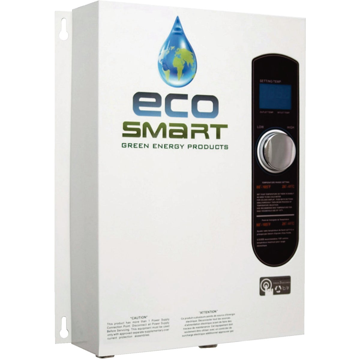 18KW TANKLESS H20 HEATER - ECO 18 by Ecosmart