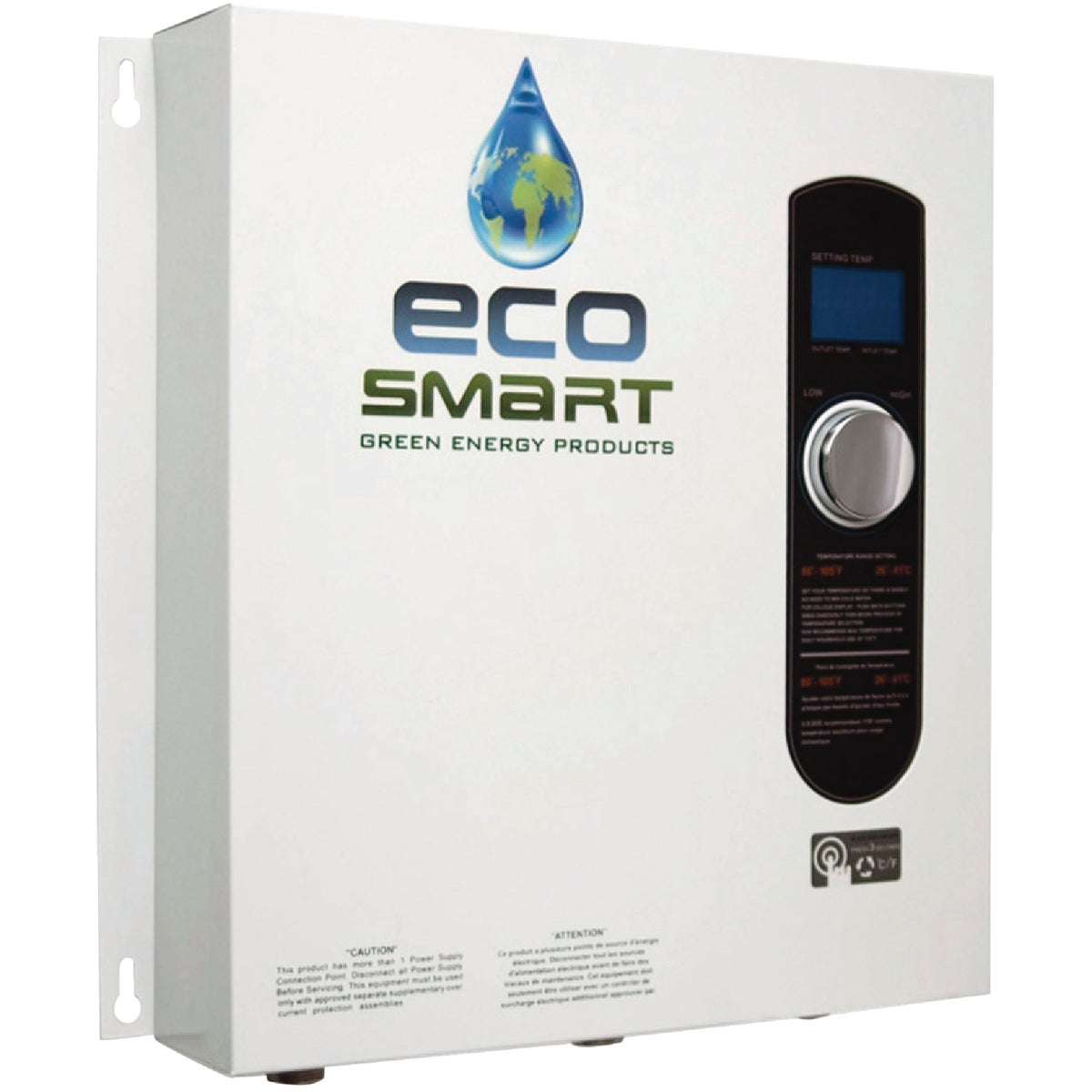 27KW TANKLESS H20 HEATER - ECO 27 by Ecosmart