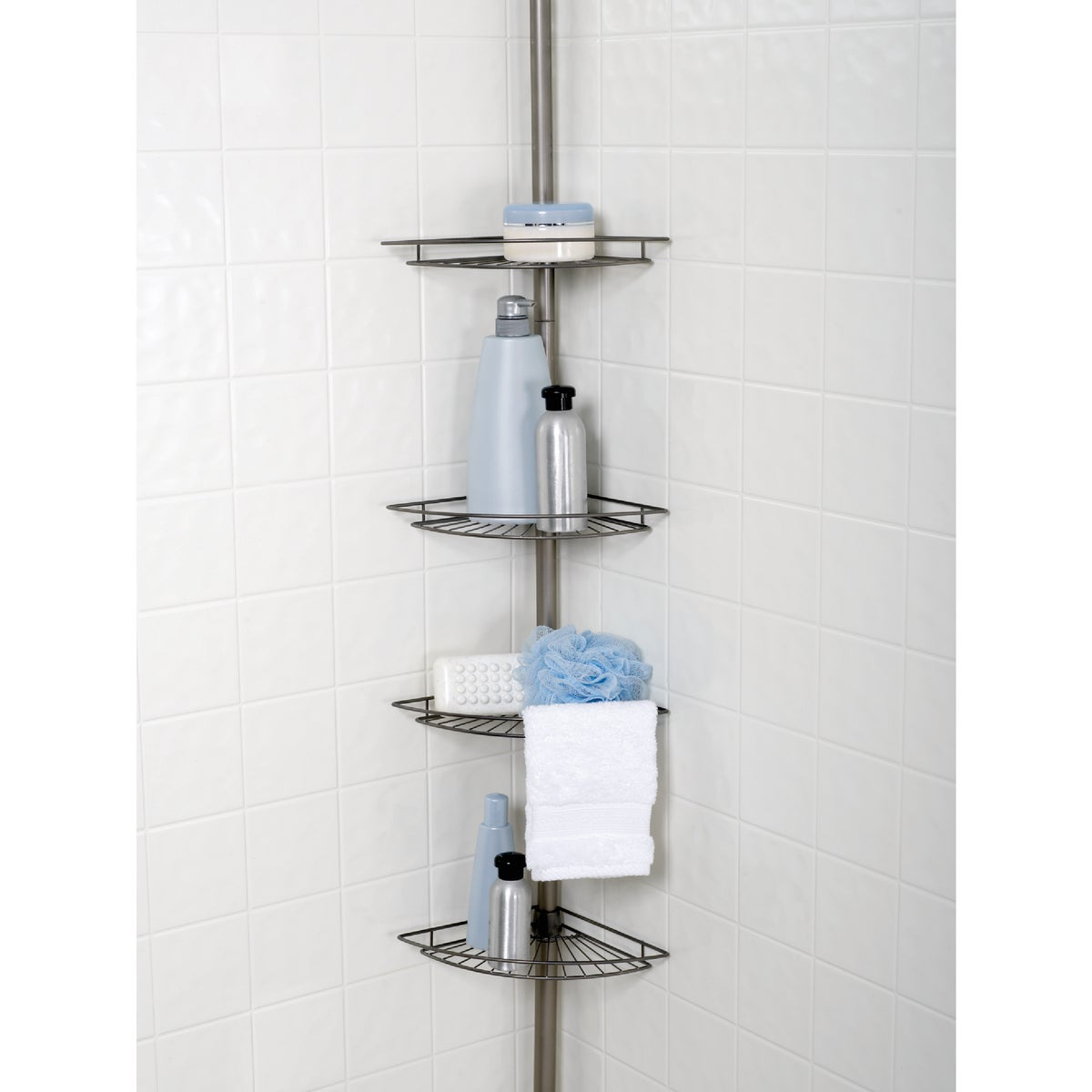 4-SHELF BN POLE CADDY - 2114NN by Zenith Prod Corp