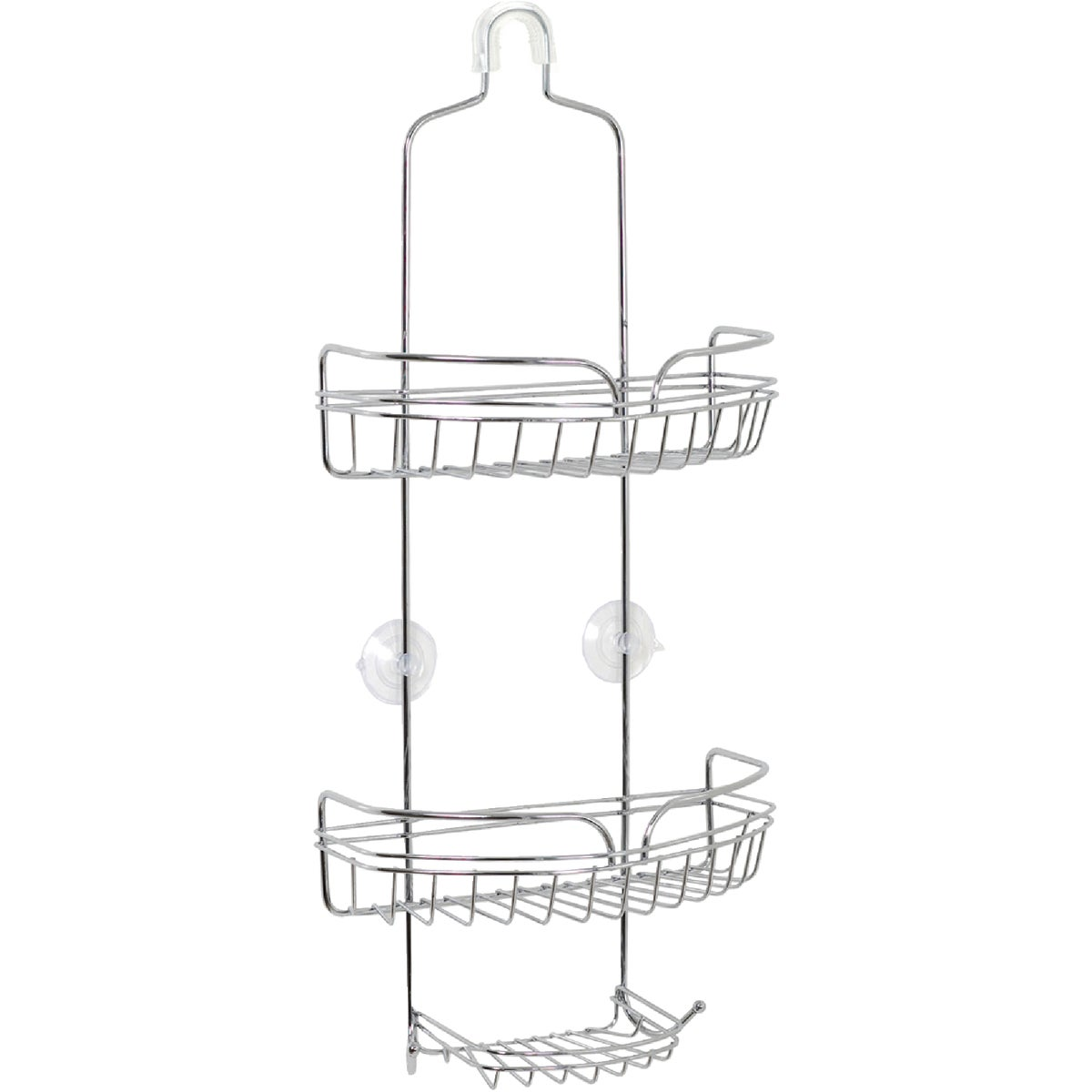 CHROME OVER-SHOWER CADDY - 7529S by Zenith Prod Corp