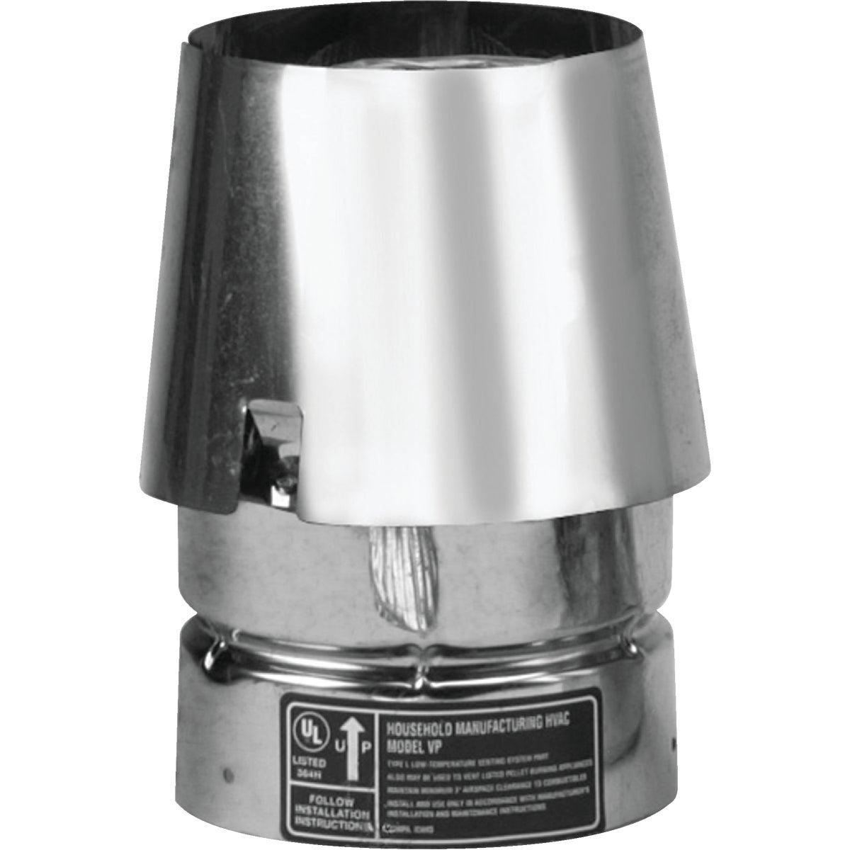 """3"""" PELLET PIPE EXIT CAP - 3VP-EC by Selkirk Corporation"""