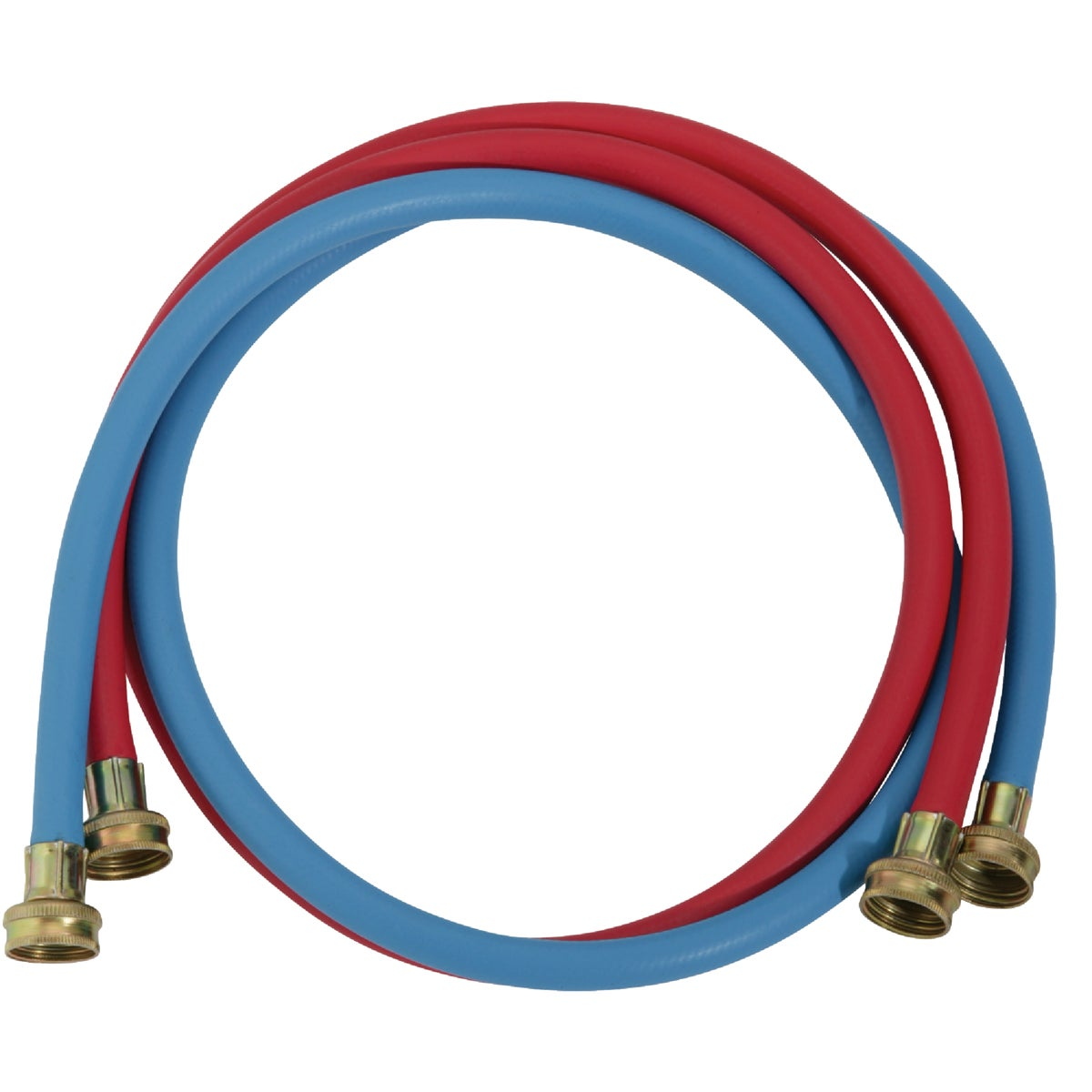 2PK 5' WASH MACHINE HOSE - 093212 by Wm H Harvey Co