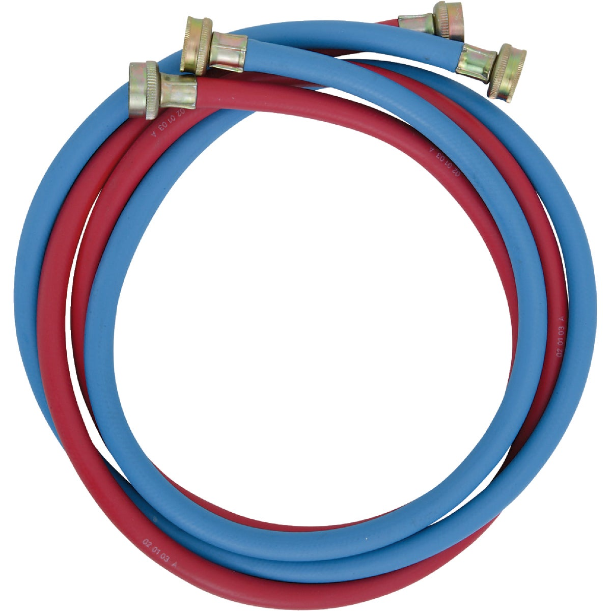 2PK 6' WASH MACHINE HOSE - 093219 by Wm H Harvey Co