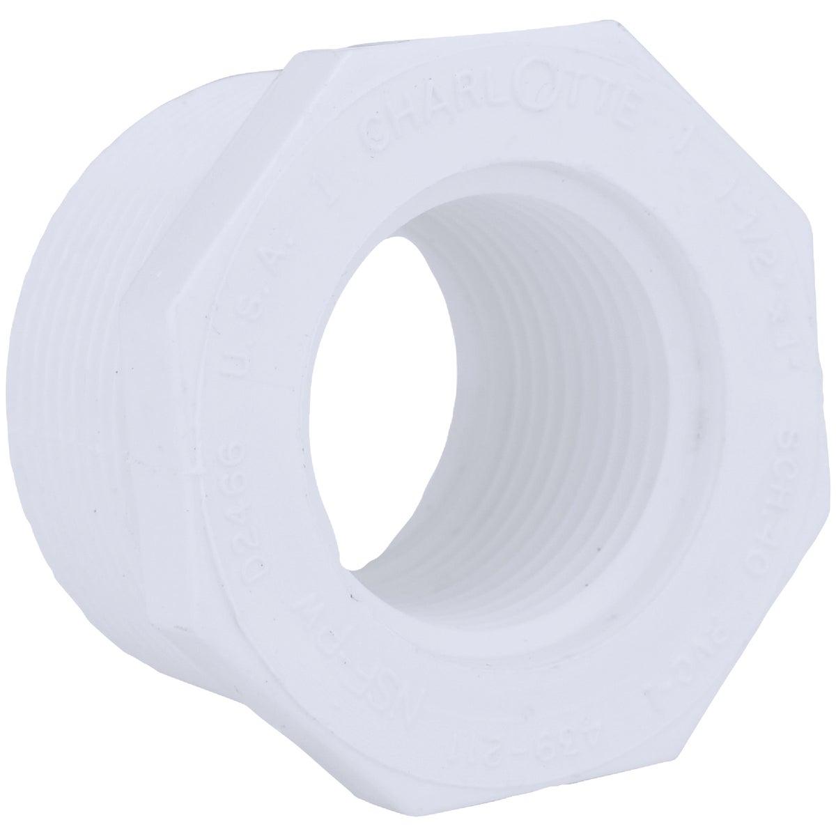1-1/2X1 PVC MXF BUSHING