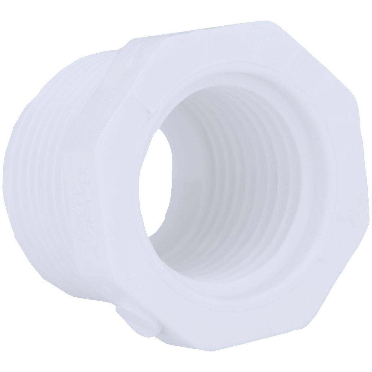 Genova Products 34320 PVC Sch. 40 Threaded Reducing Bushings, 2