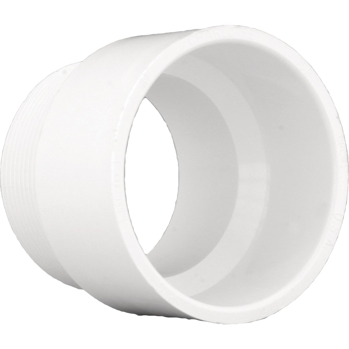 "1-1/4"" DWV MALE ADAPTER - 70414 by Genova Inc  Pvc Dwv"