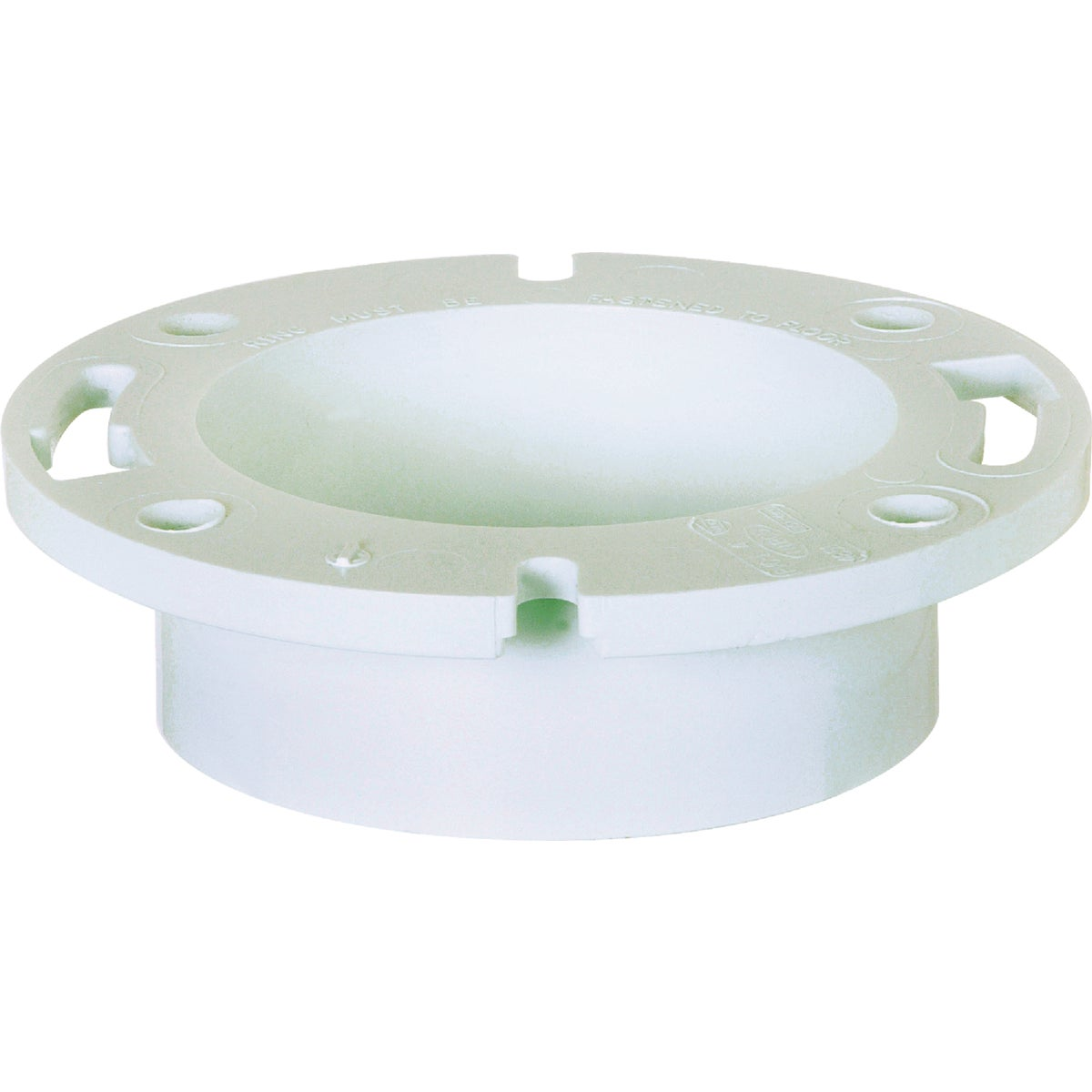 "4""HUB PVC CLOSET FLANGE - 886-4P by Sioux Chief Mfg"