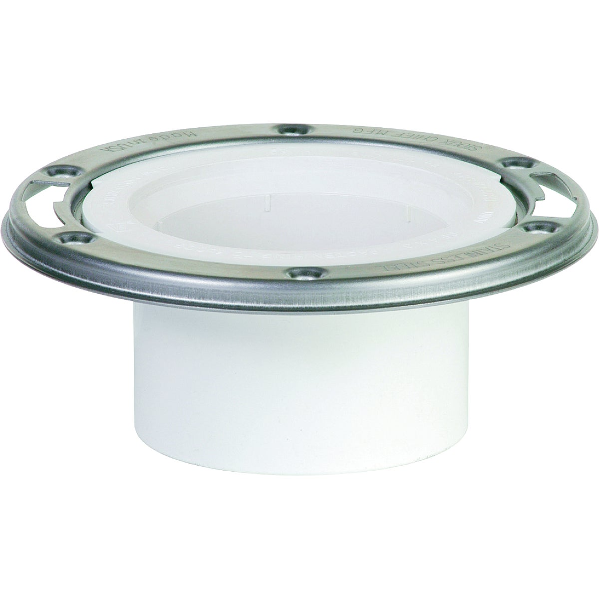 "4""HUB SS PVC CLST FLANGE - 886-4PM by Sioux Chief Mfg"