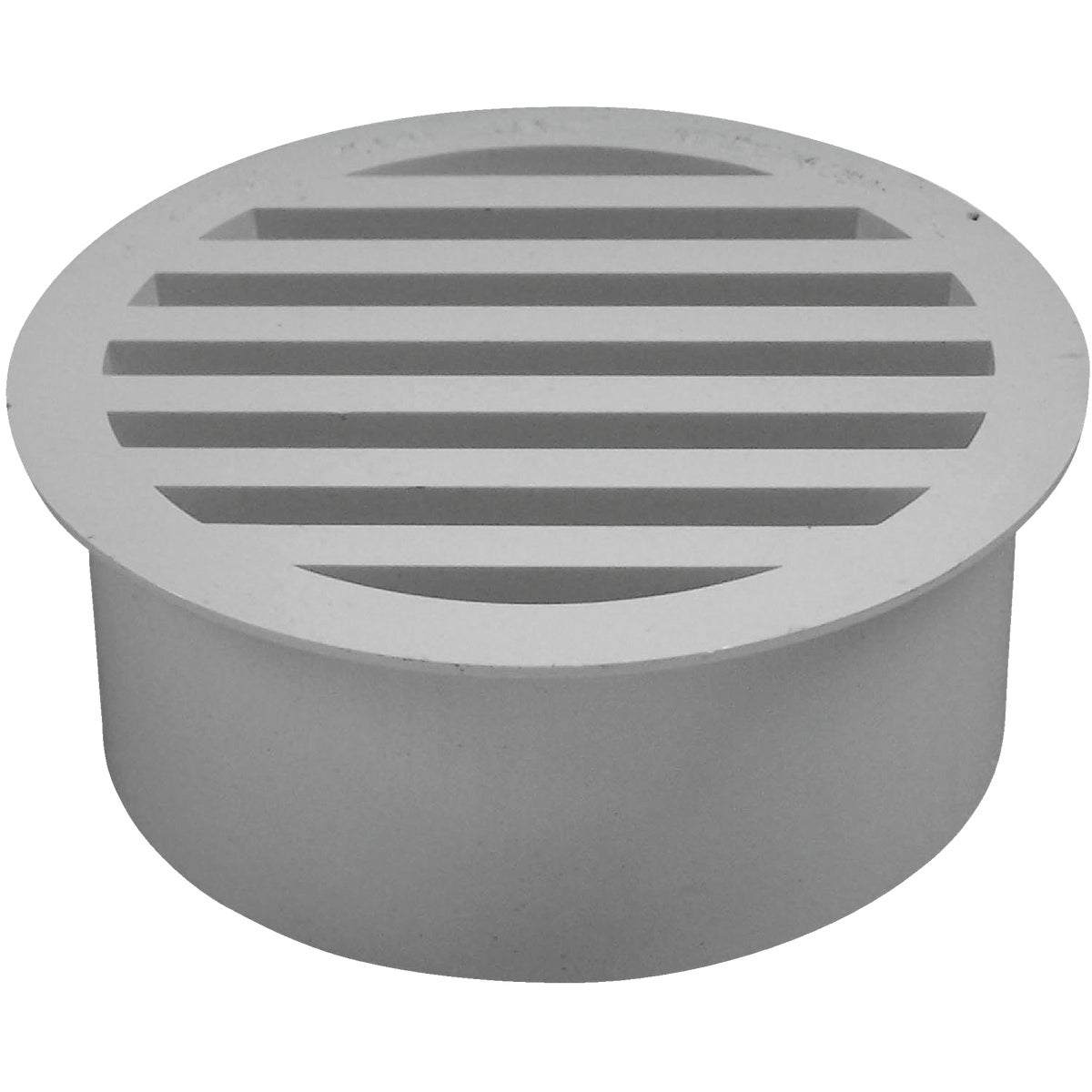 "3""PVC-DWV FLOOR STRAINER - 79130 by Genova Inc  Pvc Dwv"