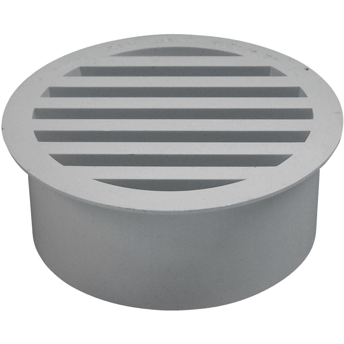 "4""PVC-DWV FLOOR STRAINER - 79140 by Genova Inc  Pvc Dwv"