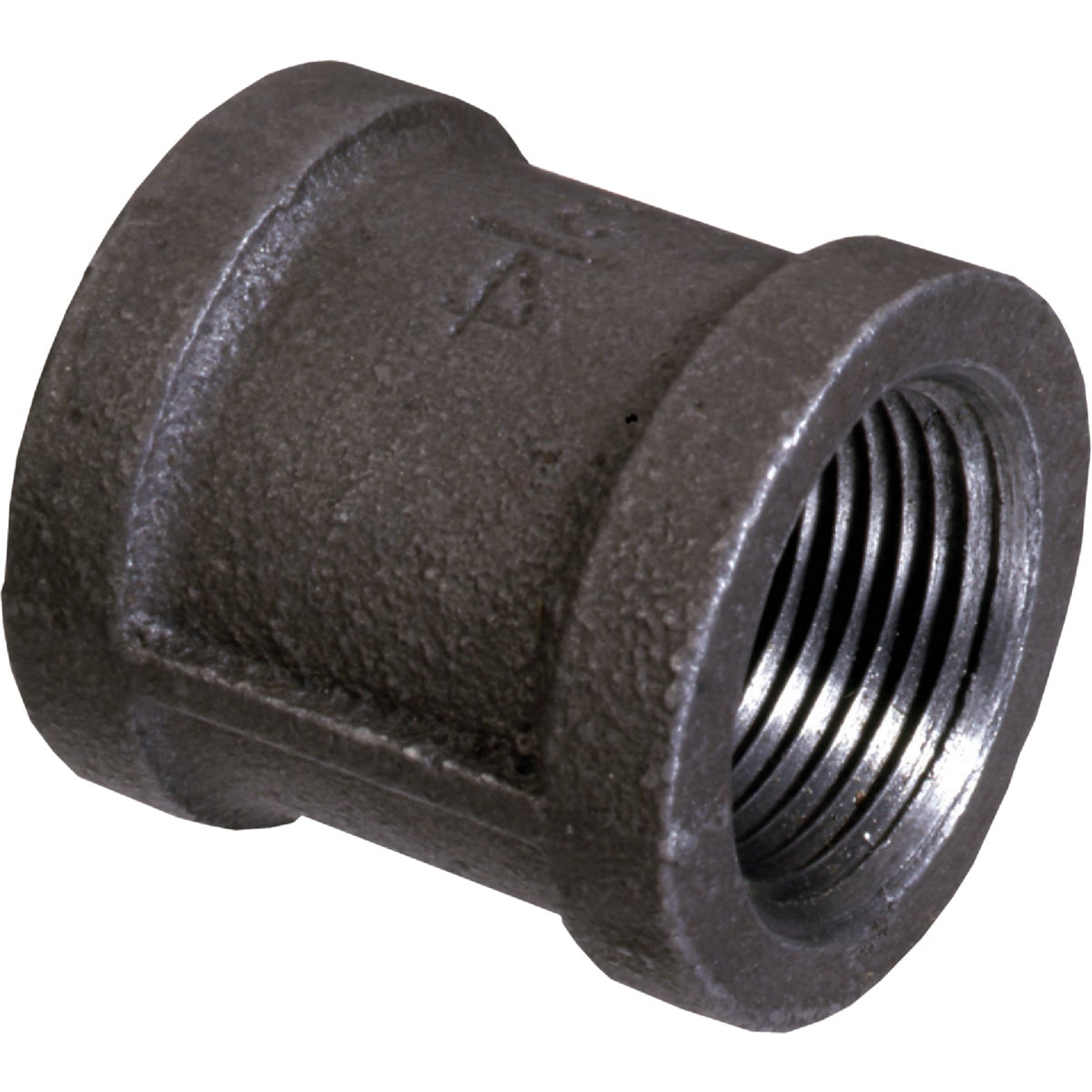 "3/4"" BLACK COUPLING - 521-204BG by Mueller B K"