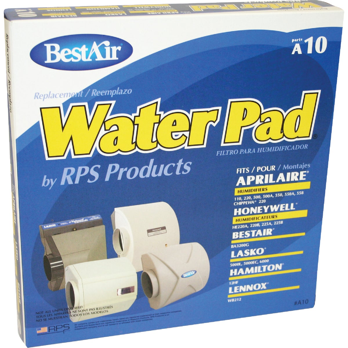 HUMIDIFIER FILTER - A10 by Rps Products Inc