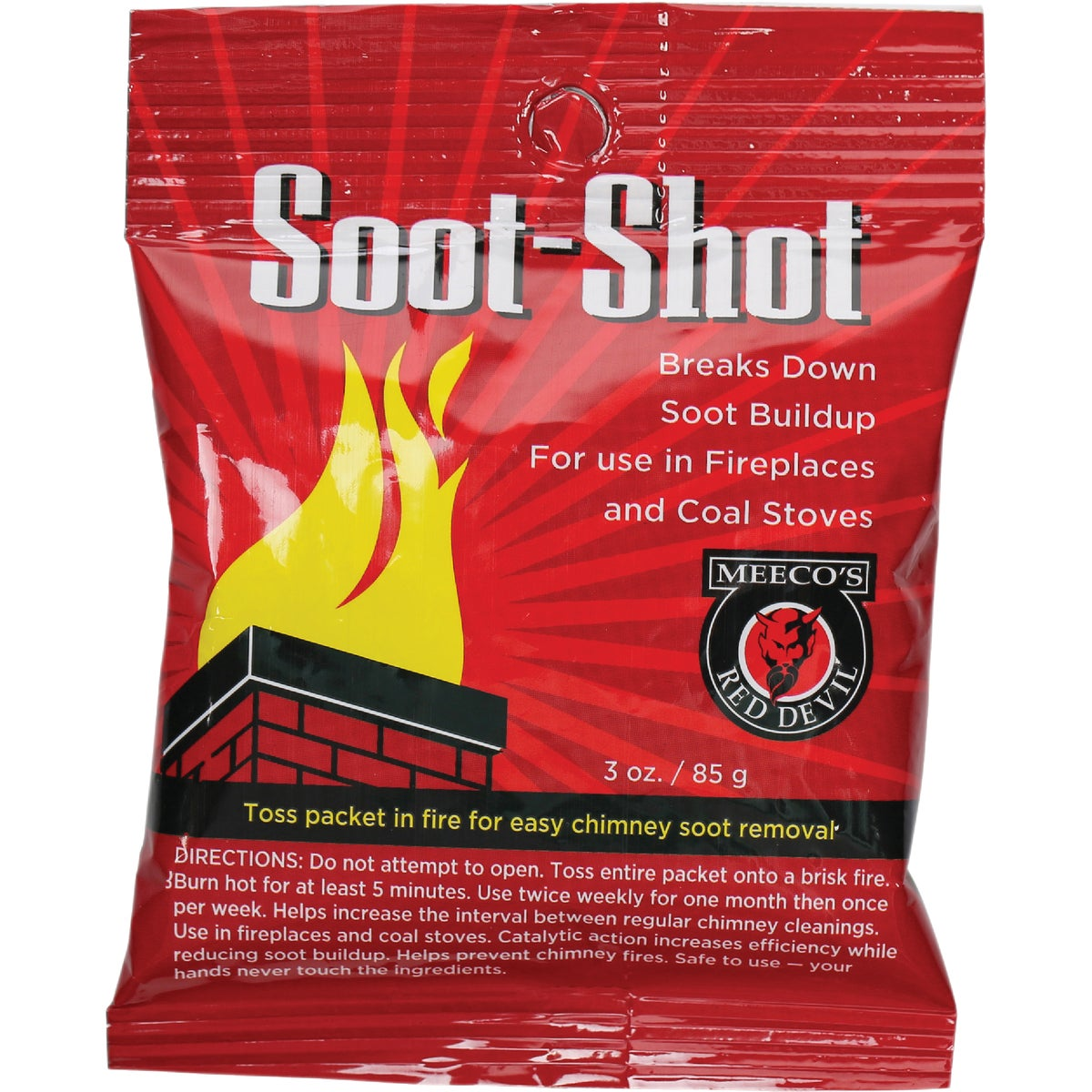 TOSS-IN SOOT REMOVER