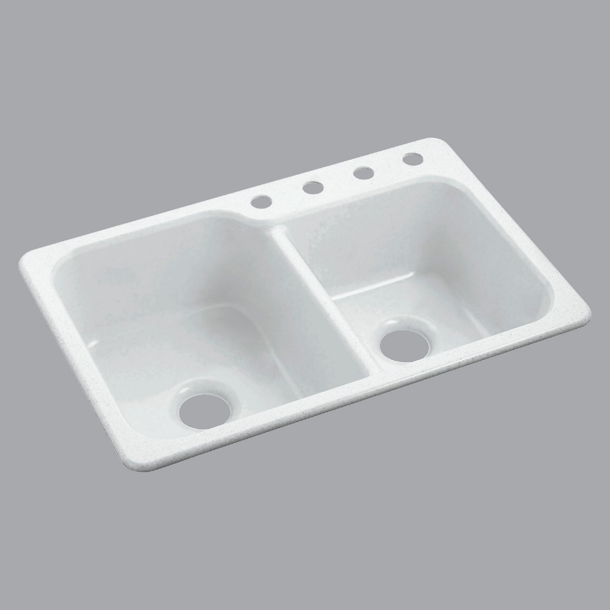 WHITE COMPOSITE SINK