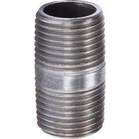 Southland Pipe Nipple 1XCLOSE BLACK NIPPLE 20600