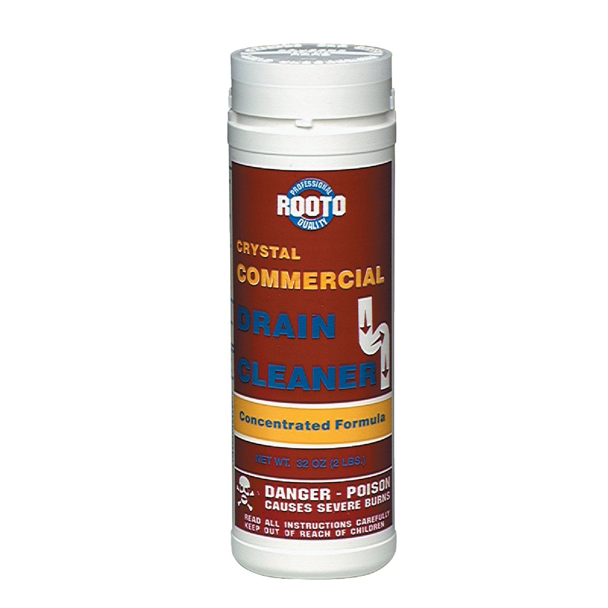 2LB DRAIN CLEANER - 1033 by Rooto Corp