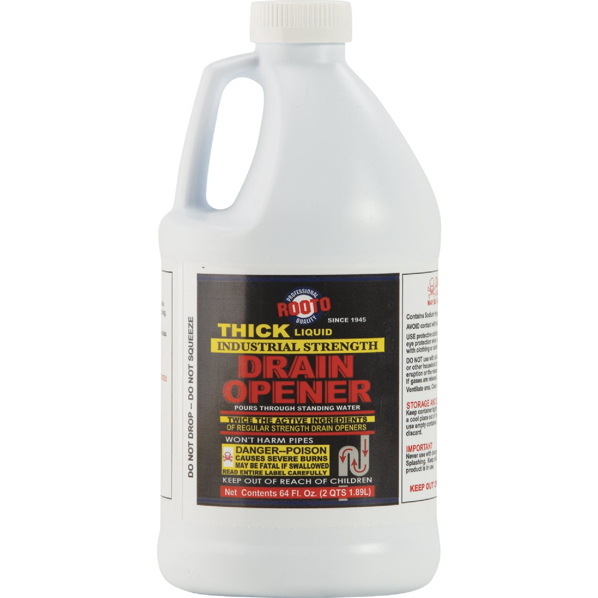 64OZ DRAIN CLEANER - 1275 by Rooto Corp