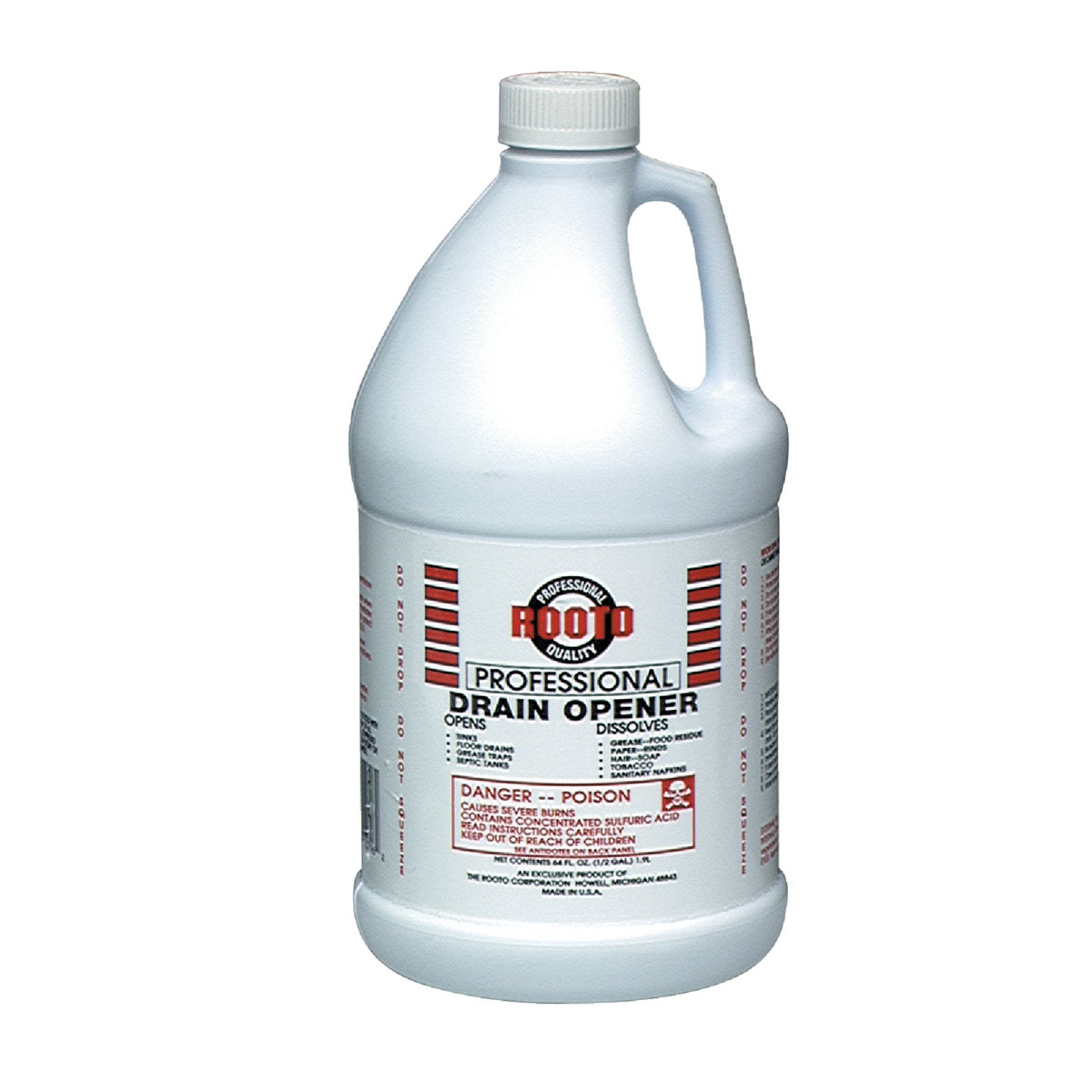 64OZ DRAIN CLEANER - 1079 by Rooto Corp