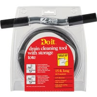 Cobra Prod. Do it Drain Auger Cleaning Tool 1/4inX15ft DRAIN AUGER