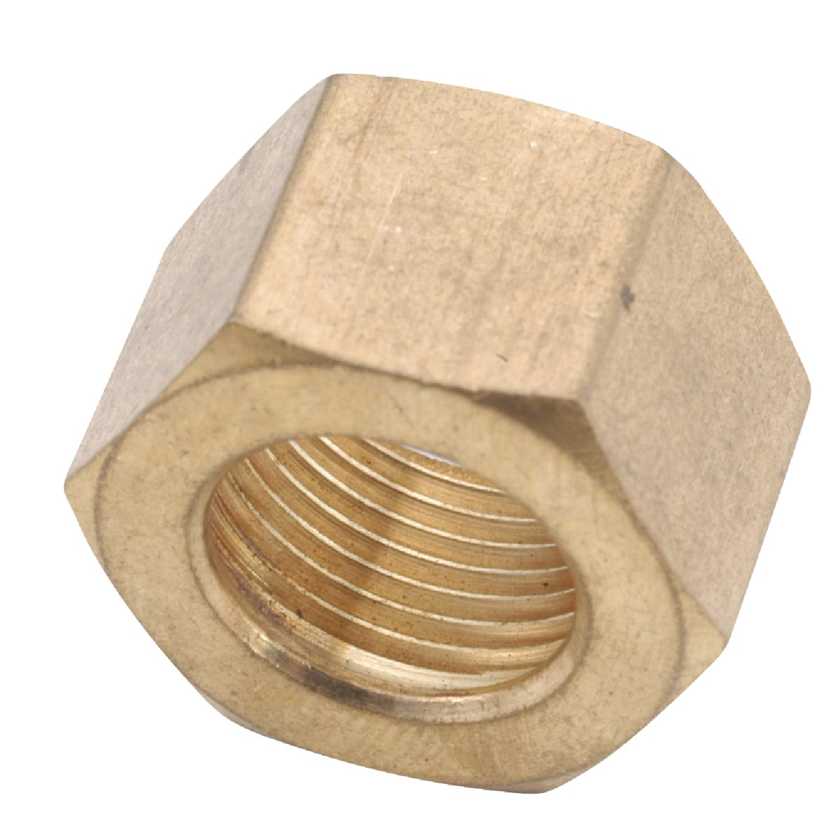 "1/4"" COMPRESSION NUT - 30051-04 by Anderson Metals Corp"
