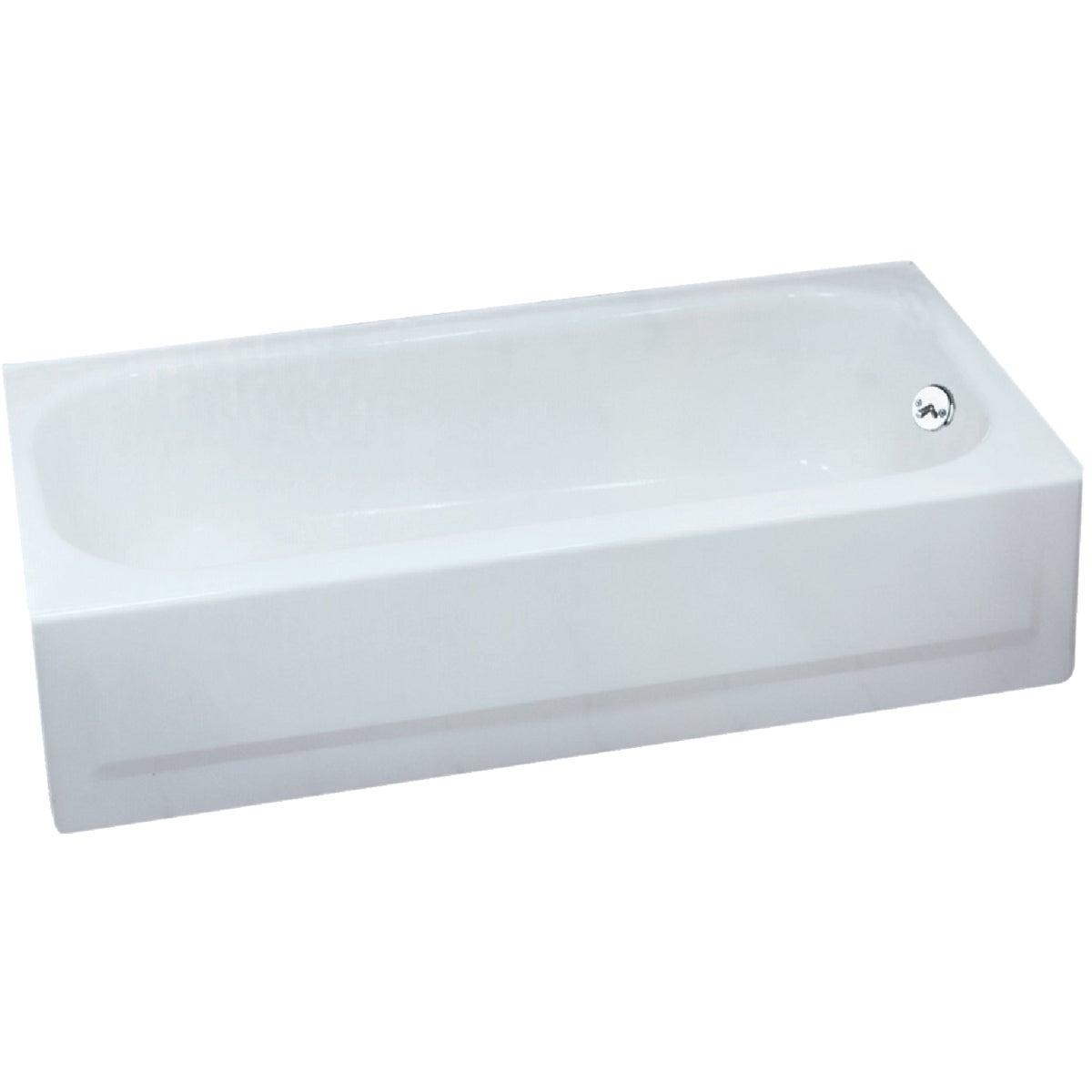 WHITE R/H TUB