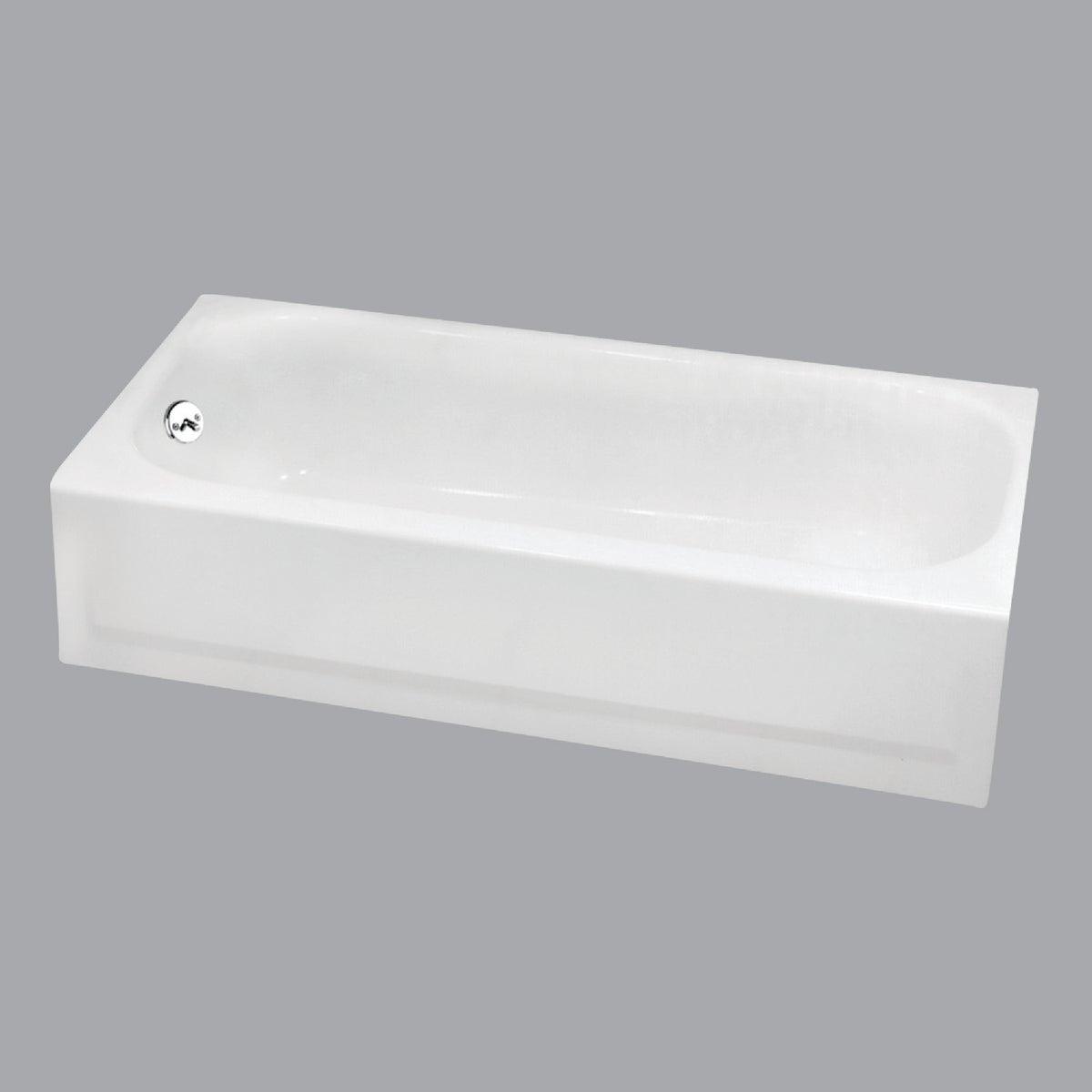 WHITE L/H TUB