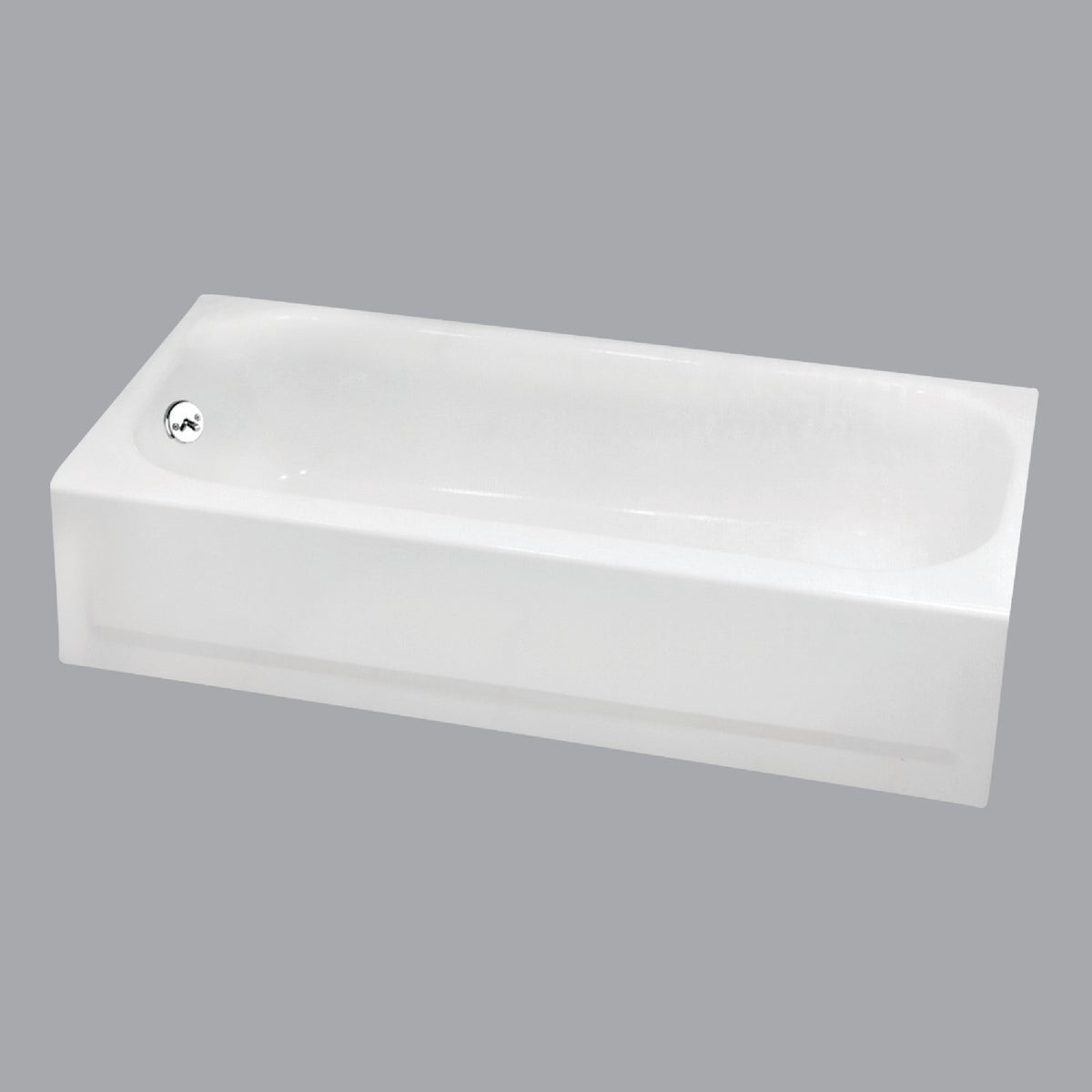 WHITE L/H TUB - 2505-130-01 by Briggs