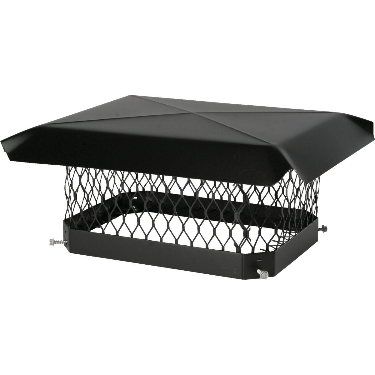 9X18 BLACK CHIMNEY COVER