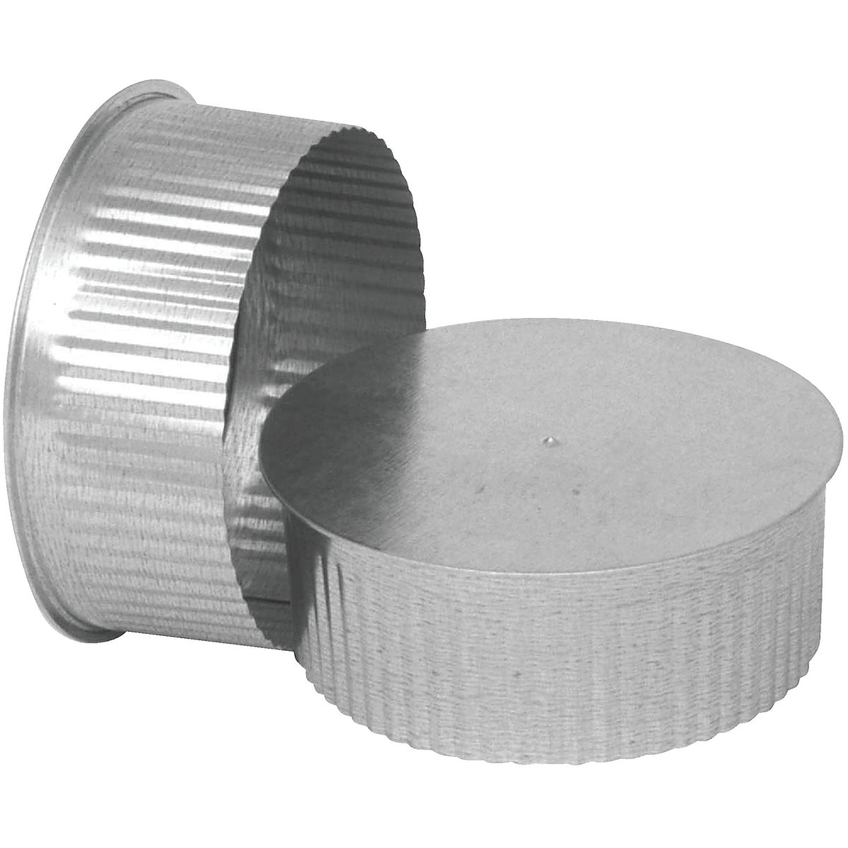 "4"" 30GA GALV TEE CAP - GV0733 by Imperial Mfg Group"