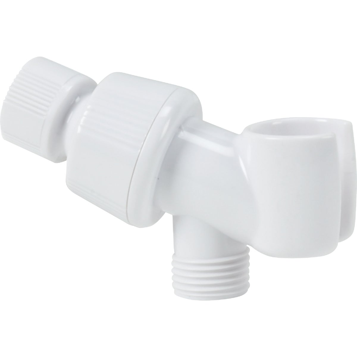 WHITE SHOWER BRACKET - 480347 by Do it Best