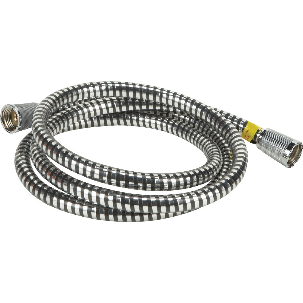 6' MYLAR/CHR SHOWER HOSE