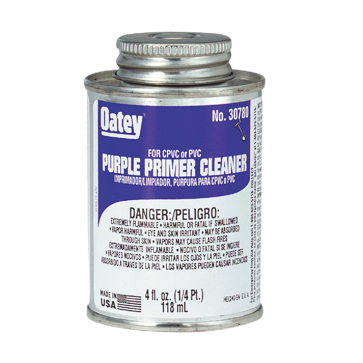 1/4PINT PRIMER/CLEANER - 30780 by Oatey Scs