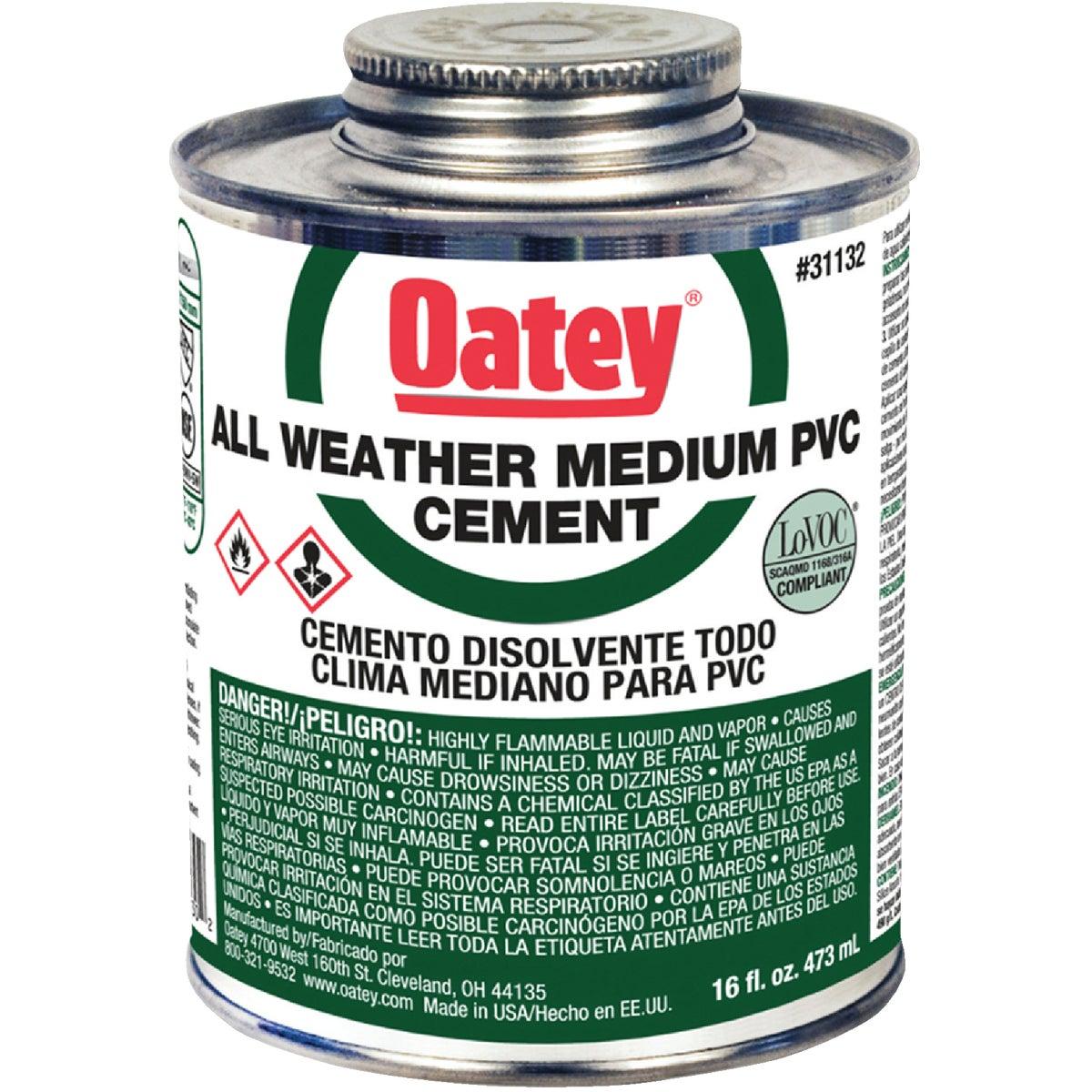Oatey PINT PVC CEMENT 31132