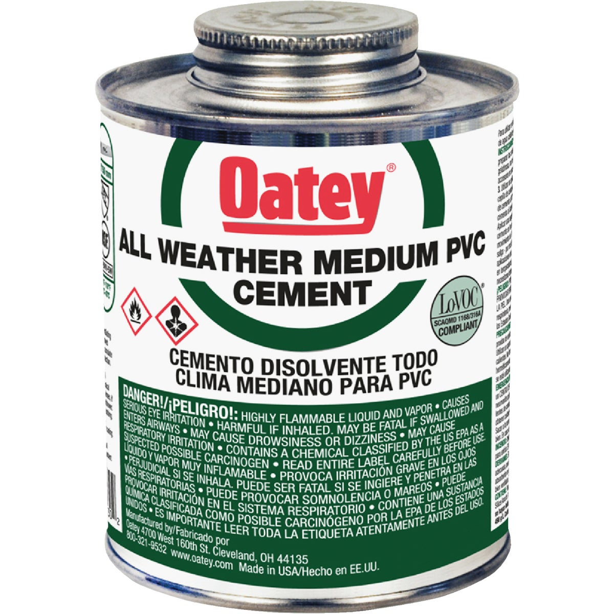 QT PVC CEMENT - 31133 by Oatey Scs