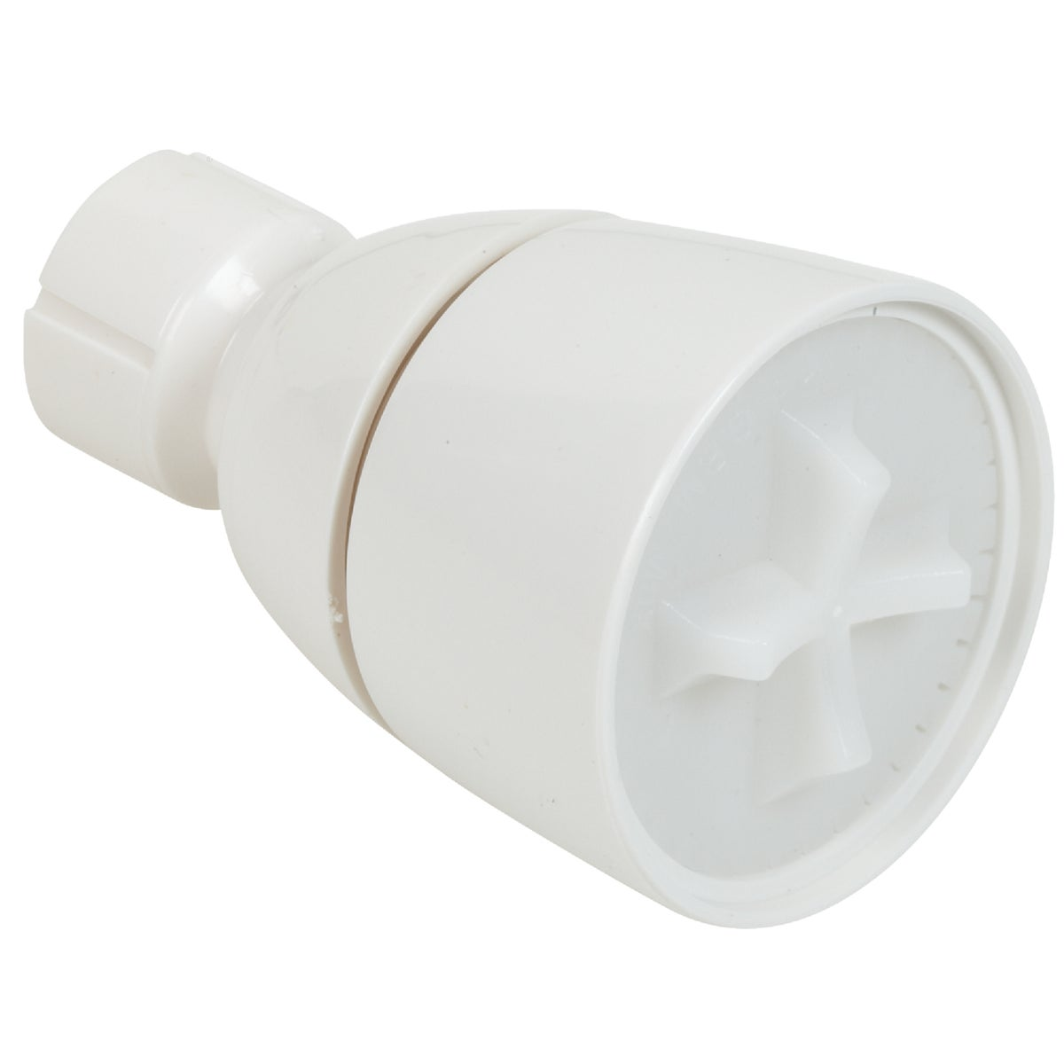 WHITE SGL ADJ SHOWERHEAD - 483443 by Do it Best