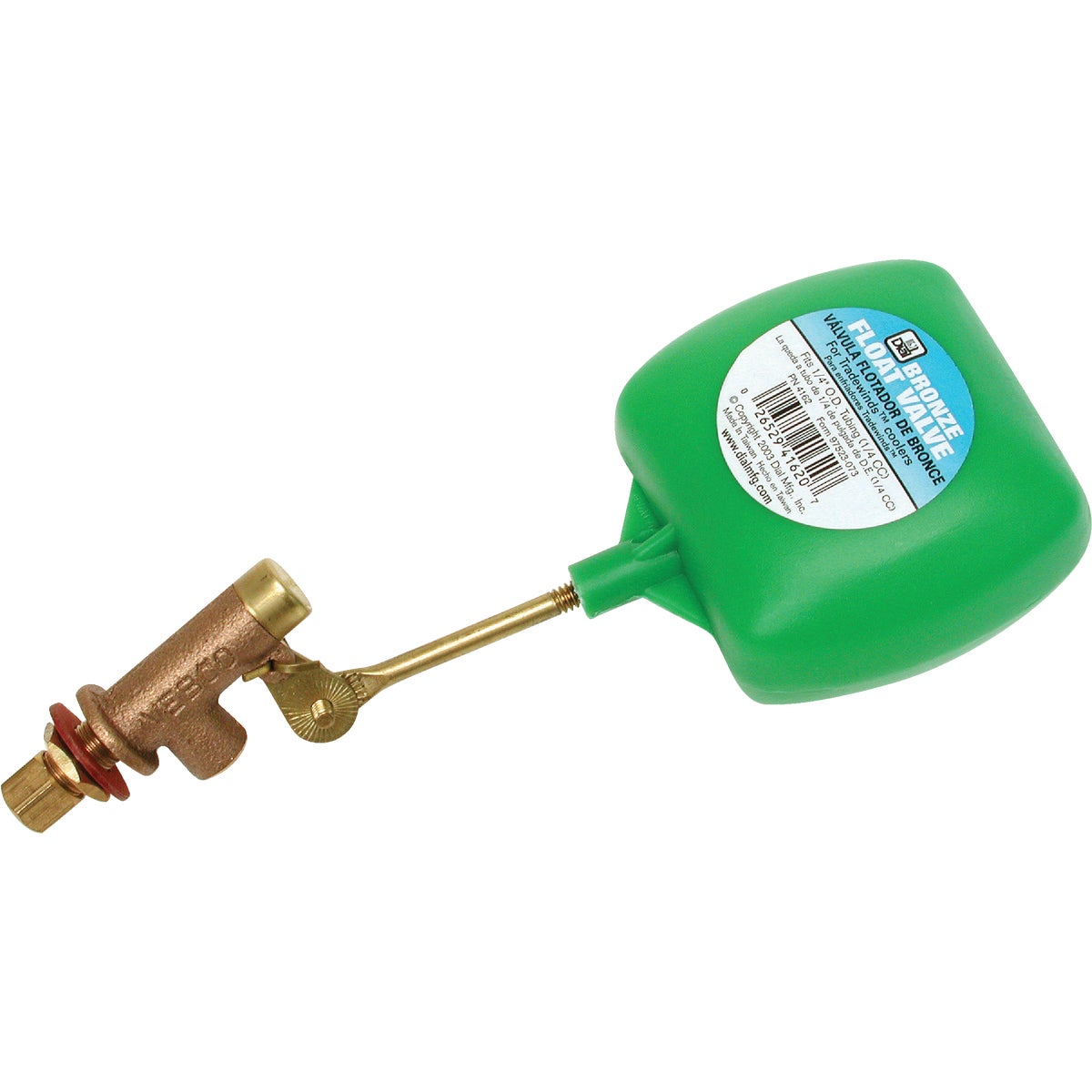 "1/4"" H/DUTY FLOAT VALVE - 4162 by Dial Manufacturing"
