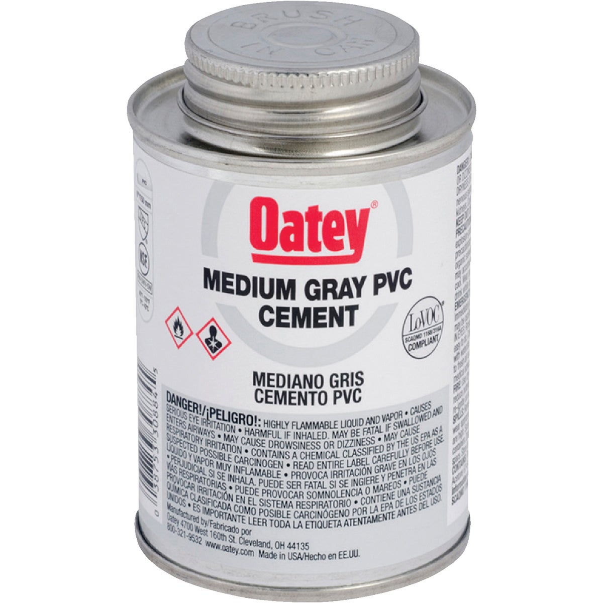 1/4PINT PVC CEMENT - 30883 by Oatey Scs
